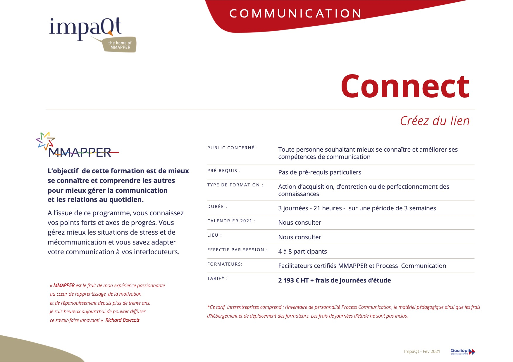 Offre Communication